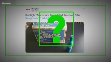 VERIFY: Is Bud Light really offering free 24-pack for anniversary?