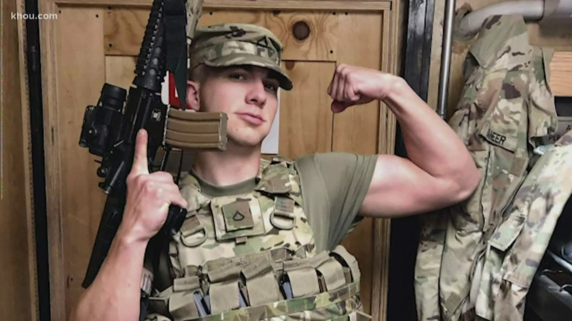 Waller County community welcomes home soldier from overseas