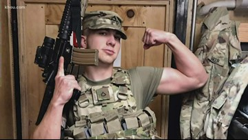 Local soldier surprised after coming home from first combat deployment