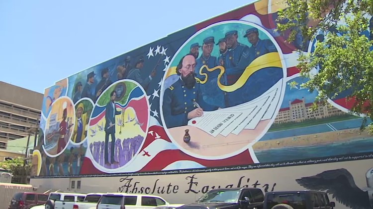 Juneteenth updates: New Juneteenth mural dedicated in Galveston