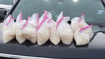 Traffic stop leads to drug bust and around 155 kilos of meth