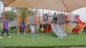 Goodrich Elementary students get new playground thanks to donors