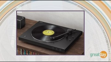 Old vinyl gets a high tech upgrade thanks to a new high tech turntable