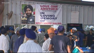 Hundreds gather at Sikh Center to honor Deputy Dhaliwal
