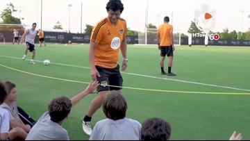 HTown60: Dynamo and Dash hosting soccer camps throughout Houston area