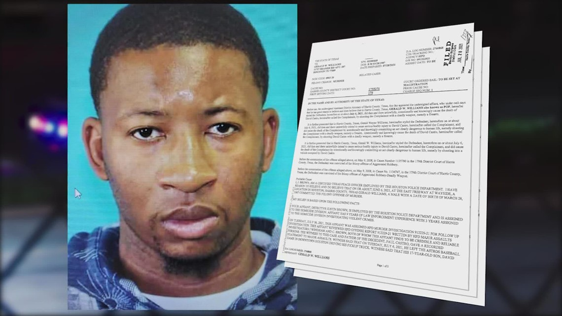 HPD identifies suspect accused of shooting, killing teen during road rage incident after Astros game