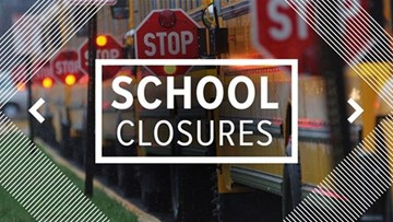 CLOSURES: School closures, delays due to cold weather in Houston