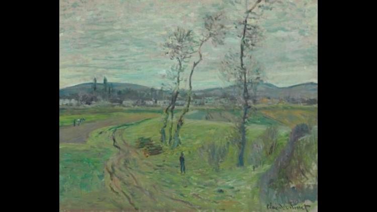 La Plaine de Gennevilliers by Claude Monet