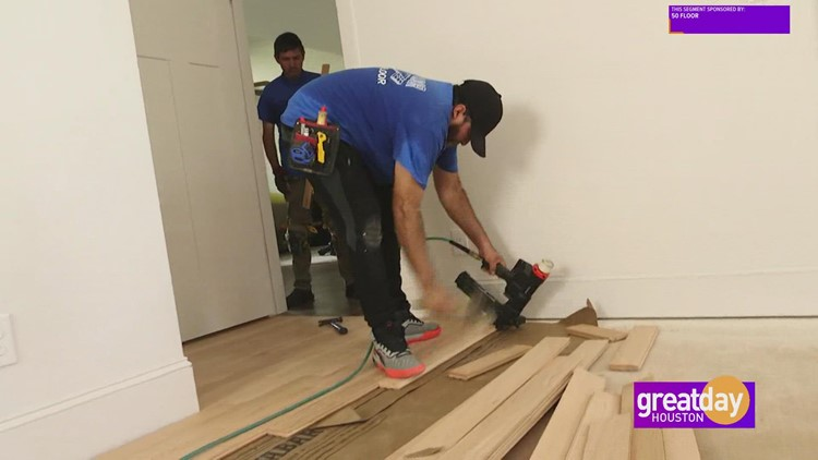 Why you shouldn't try installing new floors yourself