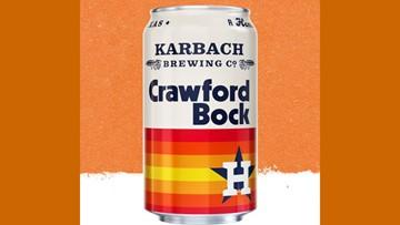 Score! Astros, Karbach team up for Crawford Bock beer