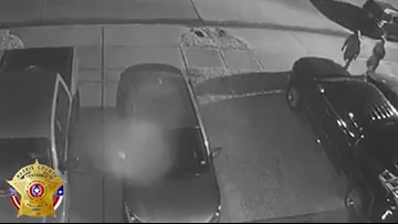Group of thieves repeatedly target vehicles parked outside in Katy and Cypress area