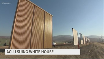 ACLU of Texas is suing Trump administration over border wall