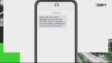 VERIFY: Is the FedEx text message real?