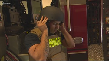 Spring Fire Department gives crews bulletproof tactical gear