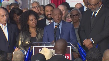 Houston Mayor Sylvester Turner claims victory over Tony Buzbee
