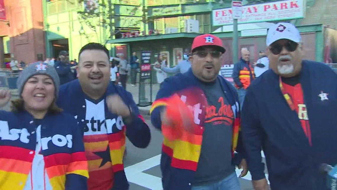 Minute Maid Park usher travels to Boston to cheer on Astros in Game 4