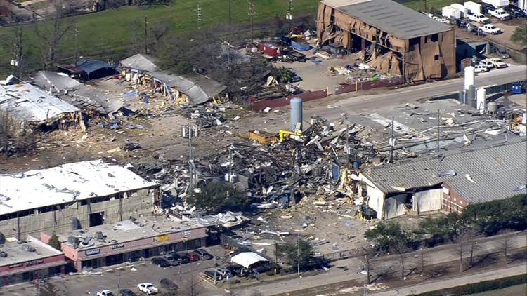 What is Watson Grinding & Manufacturing, the site of the major explosion?