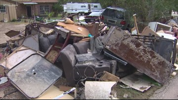 'Way worse than Harvey': New Caney residents' homes destroyed by Imelda