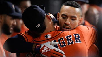 Correa HRs twice, Astros magic number at 1 for AL Central