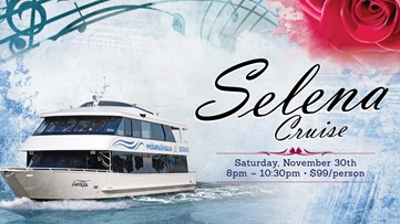 Selena-themed cruise to launch from Kemah on Nov. 30