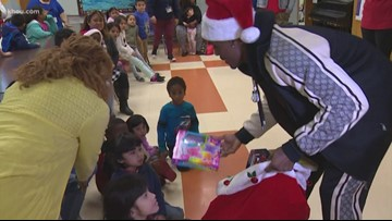 Charlo Twins host Christmas party for special needs kids