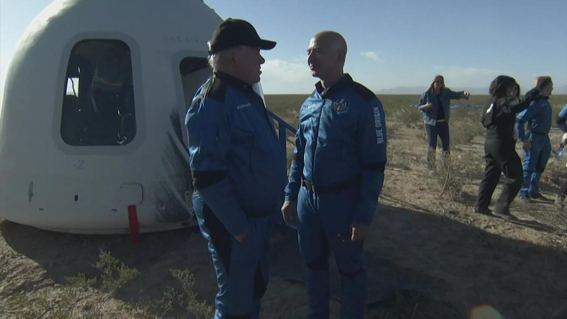 William Shatner shares tearful message after Blue Origin space flight