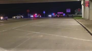 Pedestrian hit, killed on Beltway 8 feeder road near Cottingham Road in SE Houston