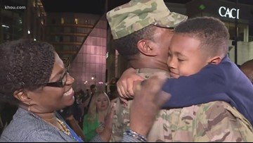 Army captain away for nearly a year surprises family