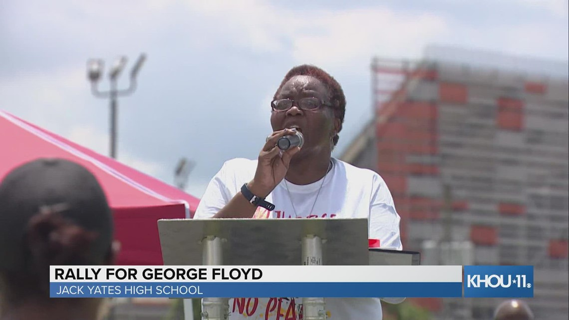 Rally to celebrate life of George Floyd