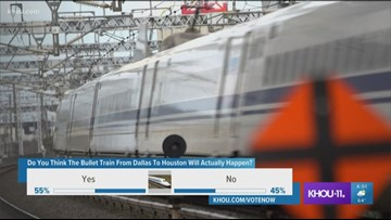 Proposed high-speed rail hits possible speed bump   khou com
