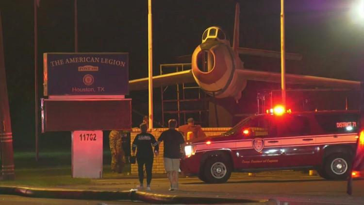 Fire damages American Legion on Galveston Road