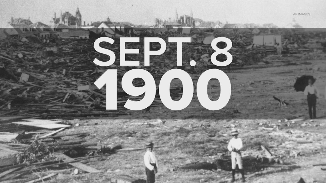 Looking back at the 1900 Storm