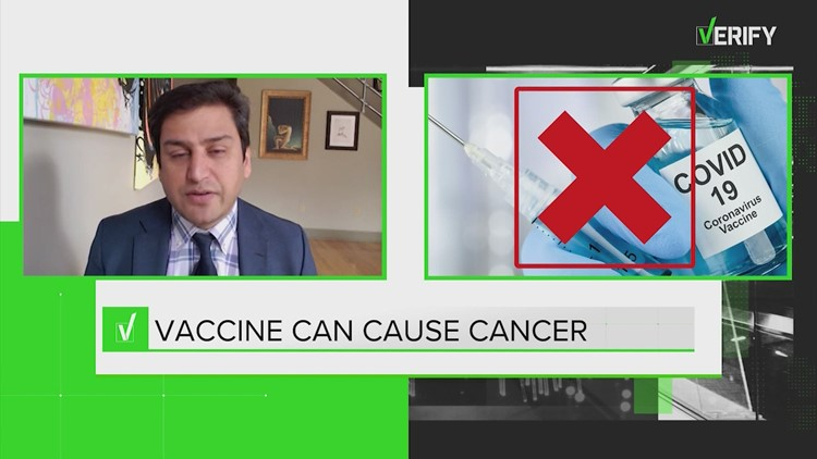 VERIFY: No evidence that COVID vaccine causes erectile dysfunction, cancer or infertility