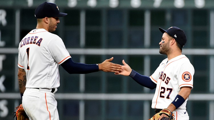 Astros stars Correa, Altuve will not play in All-Star game