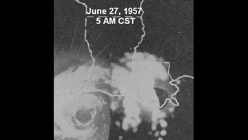 Hurricane Carla confirmed Category 4, Audrey downgraded decades later