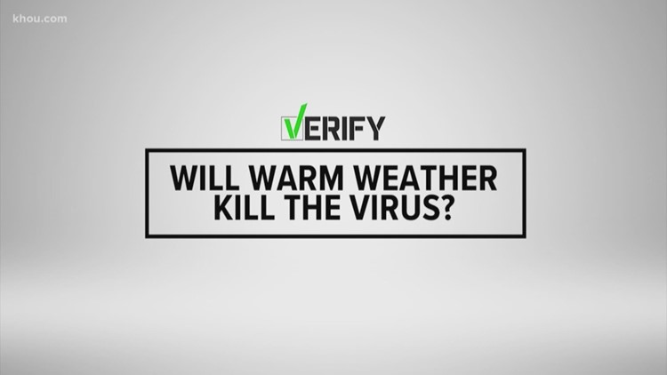 More information needed to determine effect of warm weather on COVID-19