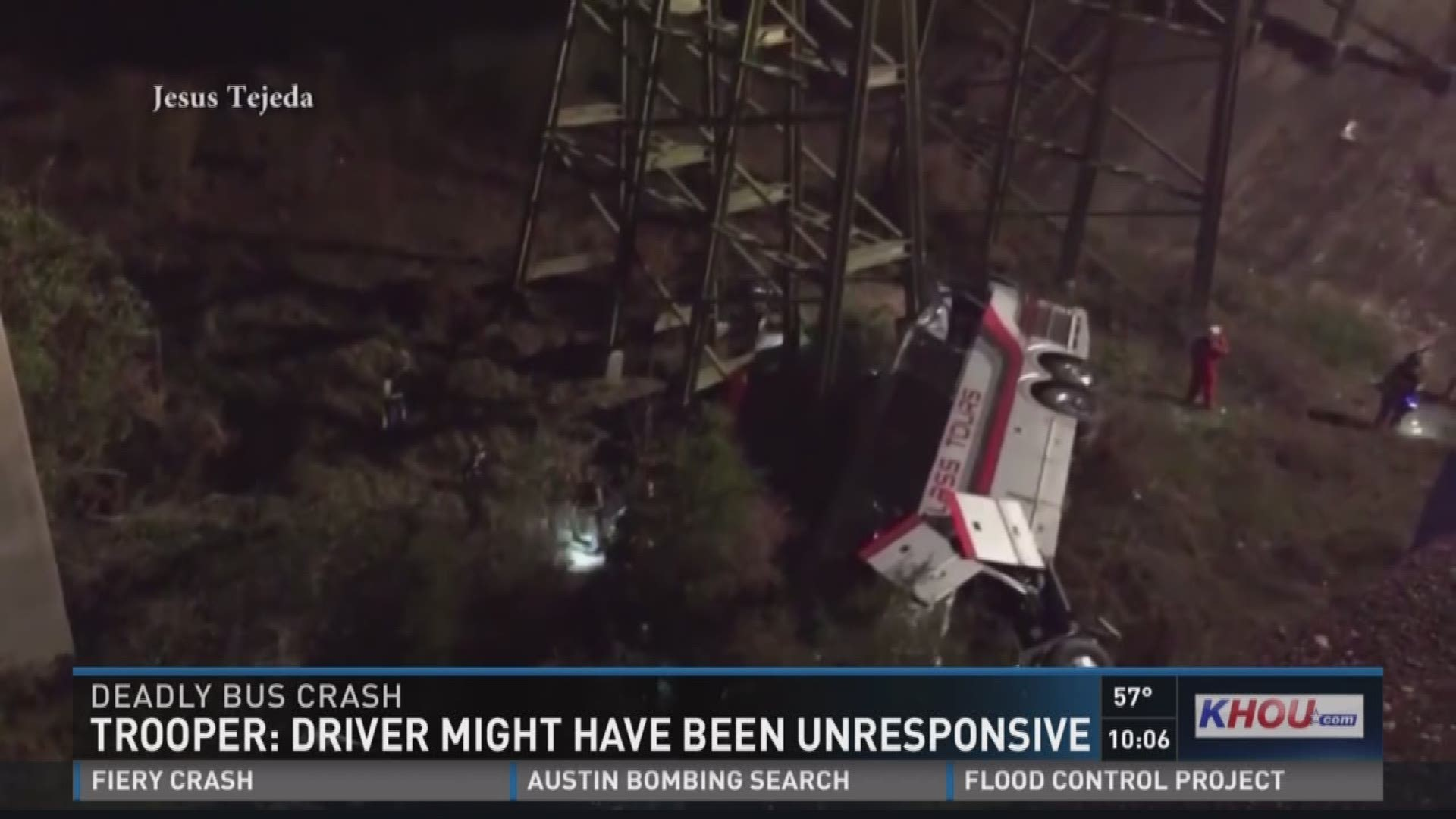 Driver Killed After Channelview Hs Bus Crashes In Alabama Ravine Khou Com