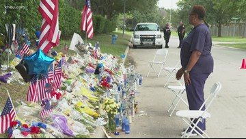 Community honors Deputy Dhaliwal at growing memorial as he's laid to rest