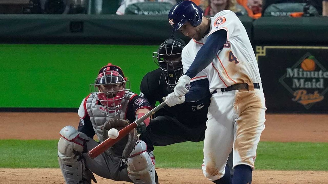Astros' comeback falls just short as Nats claim Game 1 of the World Series