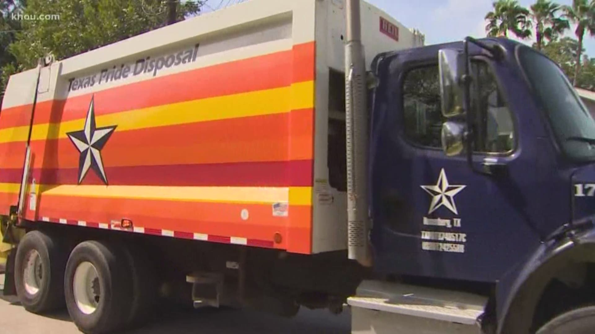 Astros Trash Truck Ready To Clean Up Houston Beat Yankees Khou Com