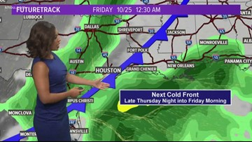 Tuesday Afternoon's Forecast