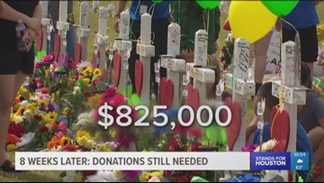 Donations are still needed eight weeks after deadly mass shooting at Santa Fe High School