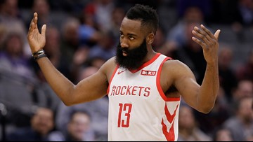 Harden leads Houston into matchup with Oklahoma City
