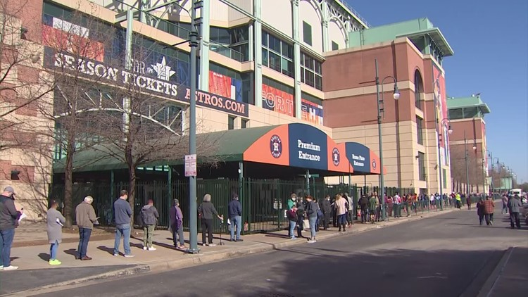 'Vaccinate at the plate' | Get free Astros tickets with your COVID shot at Minute Maid next week