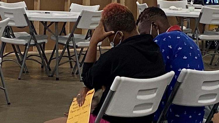 'I spent five days underneath the bridge'    Houston shelter temporarily houses Haitian migrants