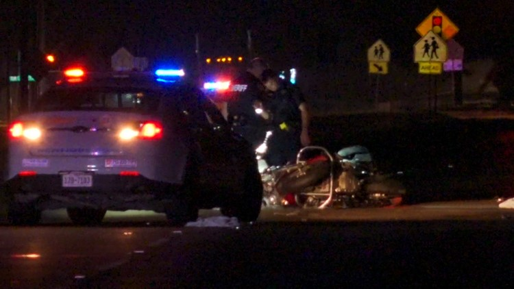 HCSO: Motorcyclist dies after hitting oil slick left by wrecked Mustang; Mustang driver arrested for DWI