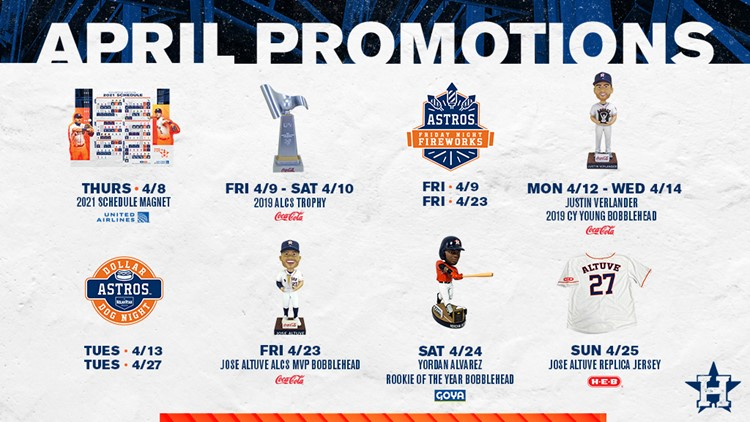 2020 Astros swag, bobbleheads are still up for grabs   Where to get them