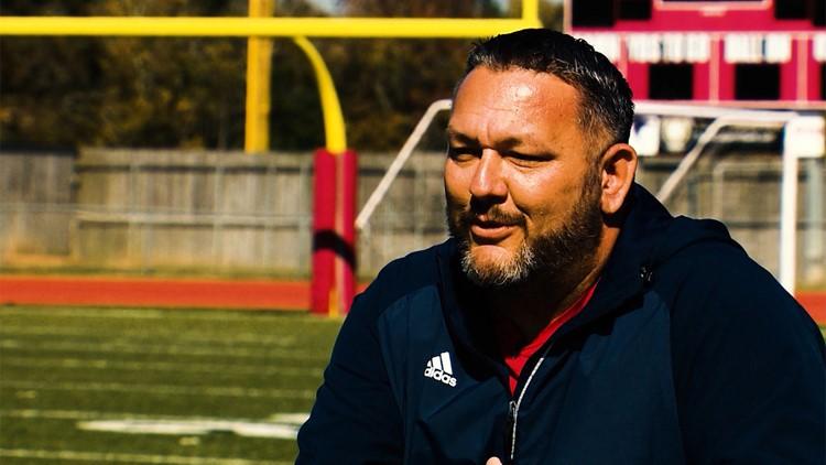Clear Lake High School football coach Larry McRae