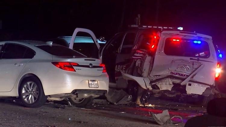 Precinct 4 deputy crash