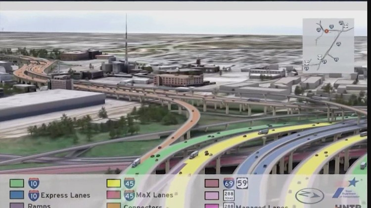 TxDOT survey asks residents about future of I-45 expansion project
